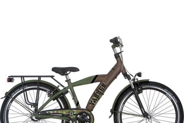 Alpina Yabber 26'' bruin met groen