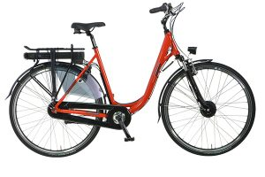 Pointer edenta rode fiets