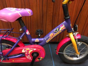 "Bike fun 12"" kinderfiets met Mega Mindy details"