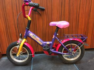 "Bike fun 12"" kinderfiets linkerzijde Mega Mindy"